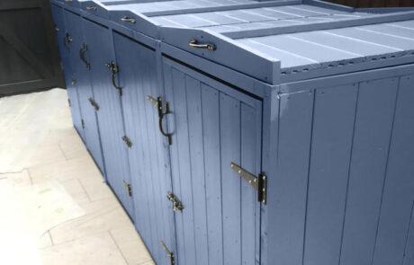 Quin 5 bin store - heritage blue