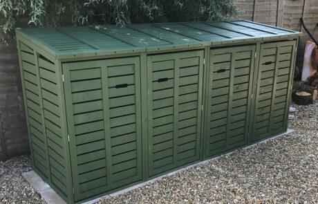Classic range Quad - Pine Green