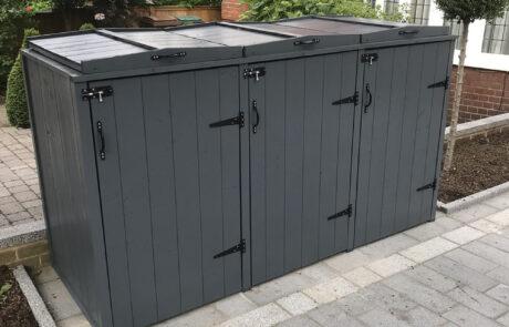 Premier range triple - Slate grey
